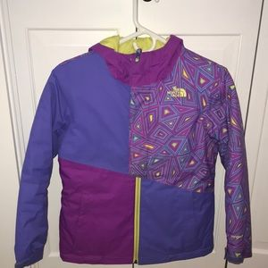 Girl's North Face Insulated Casie Ski Jacket 🎿